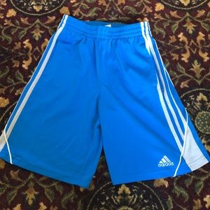 Blue Adidas drawstring shorts!